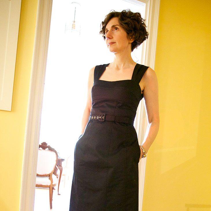 An Emphatically Structured Dress