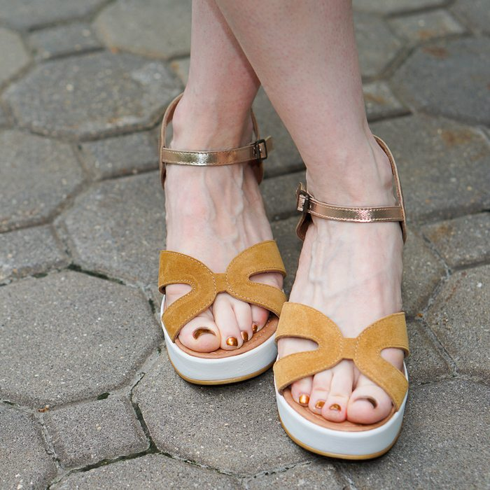 The Virtues of Camel-colored Sandals