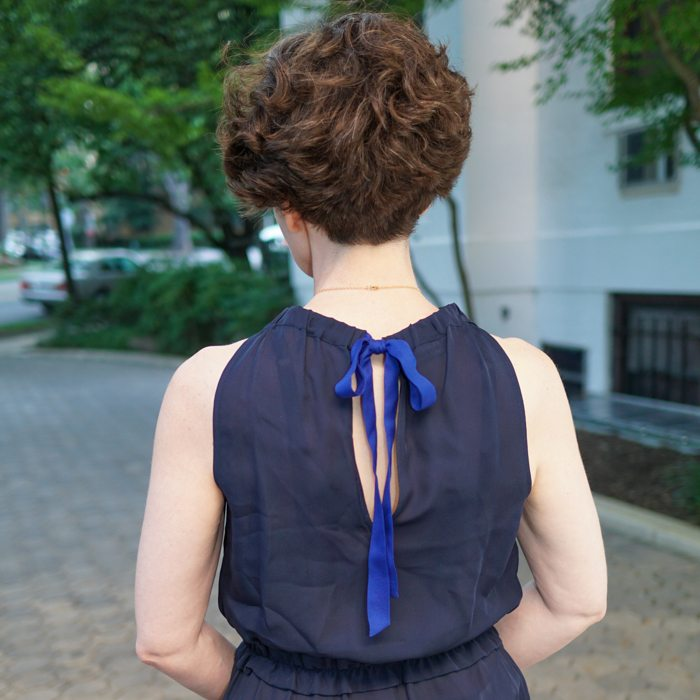 Beating the Heat: Don't Forget Navy Blue