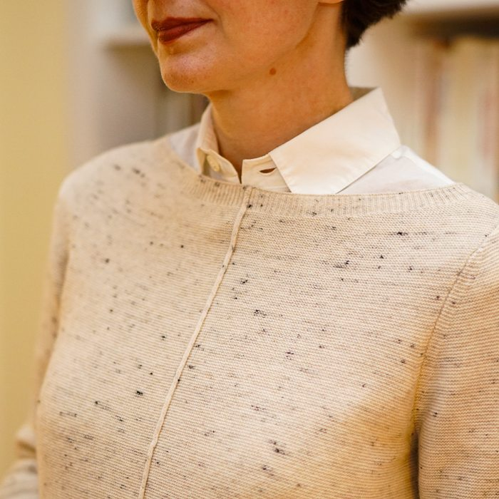 The Directrice Re-Presents: An Arresting White Blouse